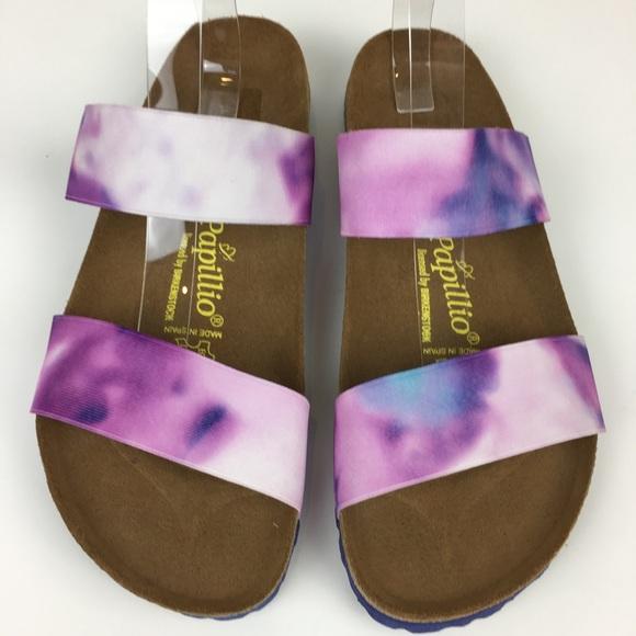 Birkenstock Shoes - Birkenstock Papillio Curaçao Elastic Tie Dye 11